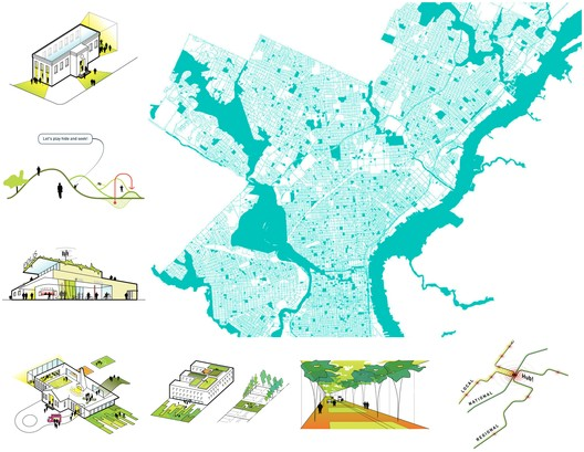 Studio Gang Creates 7 Strategies to Reimagine Civic Spaces As Vibrant Urban Hubs