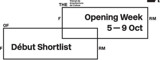 Lisbon Triennale Millennium bcp Début Award: Shortlist Announced, Courtesy of Trienal de Arquitectura de Lisboa
