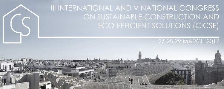 Call for Submissions III International Congress on Sustainable Construction