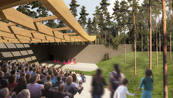Nature-Inspired Design Named Winner of Sylvan Theatre Competition