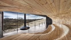 Lost in the Landscape: Snøhetta's Wild Reindeer Center Pavilion, Filmed in 4K