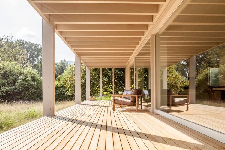 House at Lake Biel / Markus Schietsch Architekten, © Andreas Buschmann