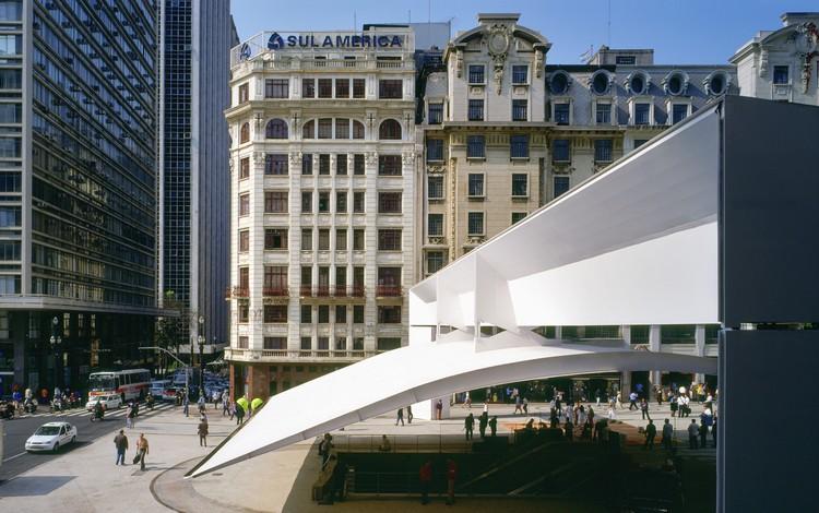 Patriarch Plaza / Paulo Mendes da Rocha. Image © Nelson Kon