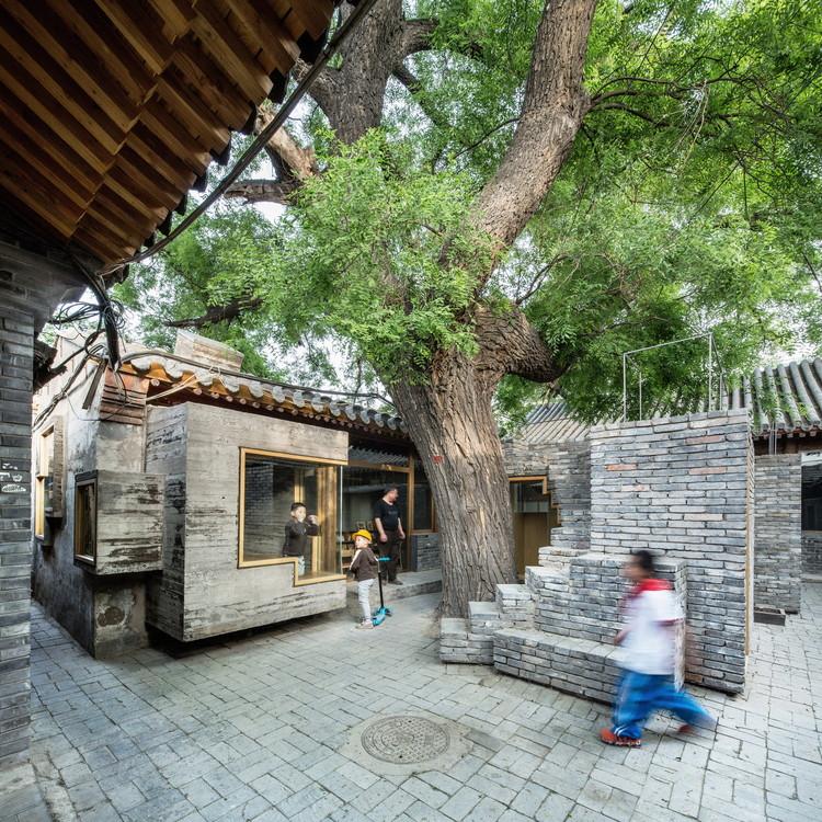 Biblioteca y Centro de Arte para niño en Hutong / ZAO / standardarchitecture / Zhang Ke. Image © AKTC / Zhang MingMing, ZAO, standardarchitecture