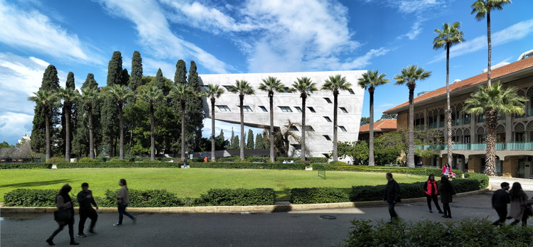 Issam Fares Institute / Zaha Hadid Architects. Image © Aga Khan Trust for Culture / Cemal Emden