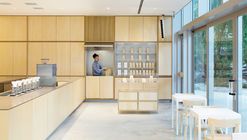Café Blue Bottle en Roppongi  / Schemata Architects