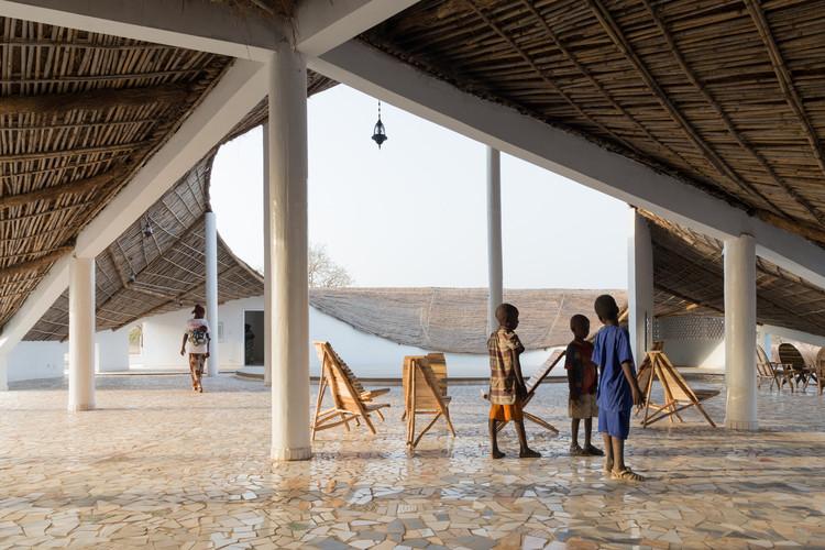 Mejor Nuevo Museo, África: Residencia de artistas en Senegal / Toshiko Mori. Imagen © Iwan Baan