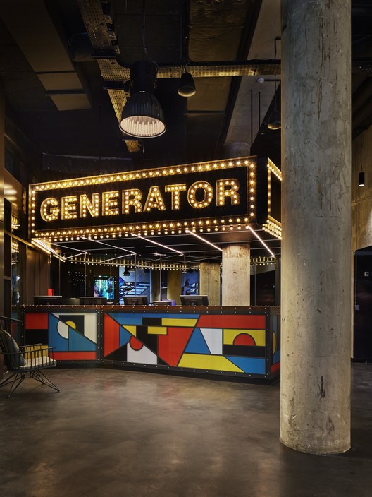 Generator / DesignAgency. Image Cortesía de Restaurant & Bar Design Awards