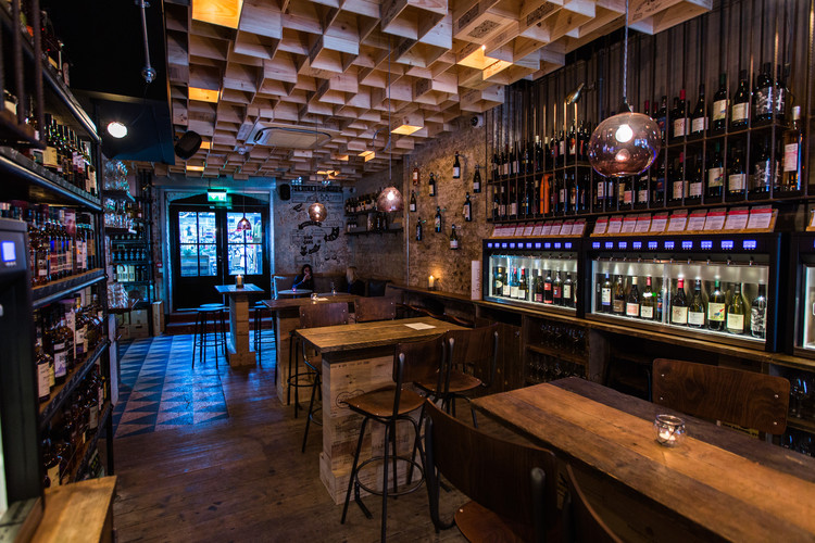 Vagabond Wines / Finch Interiors. Image Cortesía de The Restaurant & Bar Design Awards