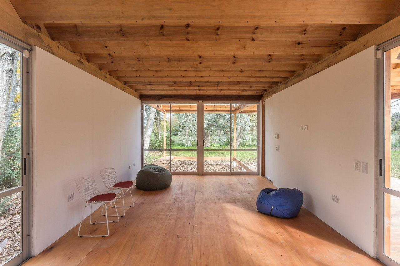 Gallery of casa de madera estudio borrachia 30 - Casaa de madera ...