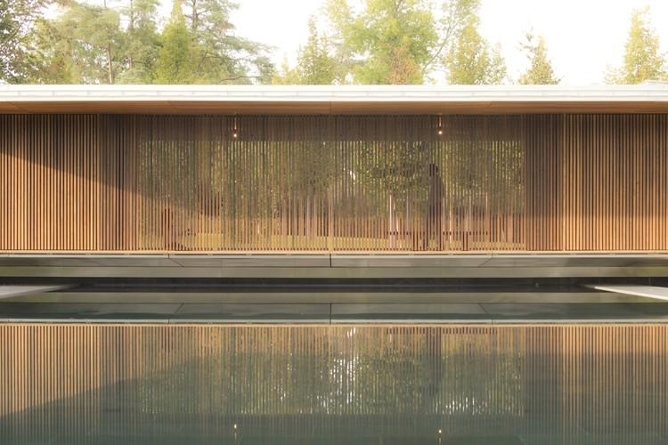 Meditation Pavilion & Garden / GMAA. Geneva, Suiza. Image © A.Korour