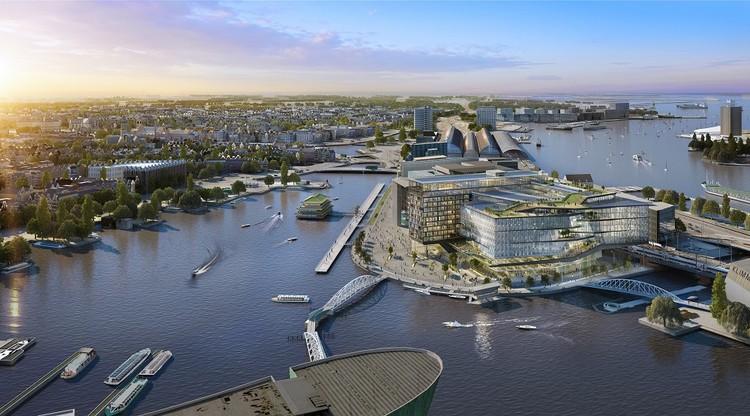 UNStudio diseña la pieza final de un nuevo campus urbano en Amsterdam, Cortesía de UNStudio