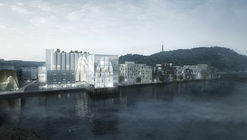 RSAA's Artcube Proposal Accentuates, Preservers, and Modifies Historical Silo in Norway