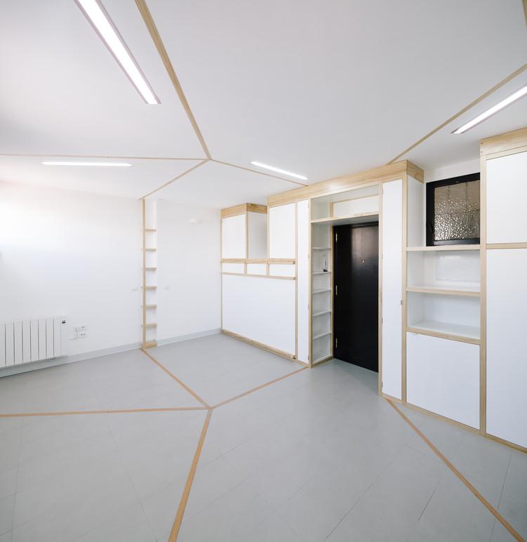 Biombombastic - Reforma de apartamento. Image Cortesía de COAM
