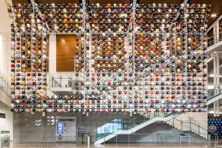 College football hall of fame tvsdesign archdaily - Interior design colleges in atlanta ga ...
