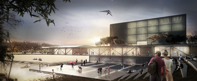 TARI-Architect's Entry Proposal for Lithuania's Science Island, Courtesy of TARI-Architects