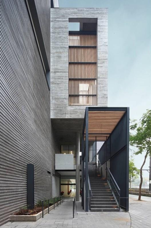 Edificio cultural y de ocio Ping Shan Tin Shui Wai / ArchSD , Cortesía de ArchSD