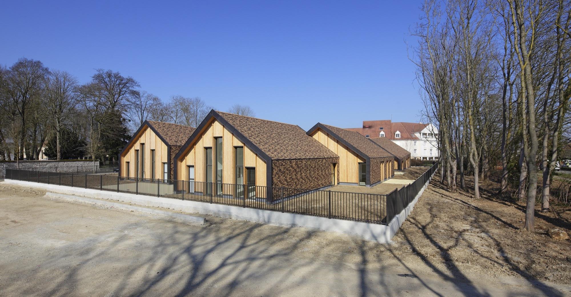 Gallery Of Maison De L Enfance Nomade Architectes 13
