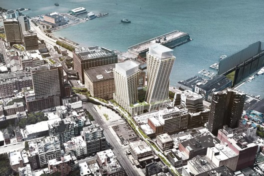 BIG's Twisting Towers along the High Line Will Contain Condos & a Luxury Hotel