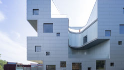 Edificio de Artes Visuales en la Universidad de Lowa / Steven Holl Architects