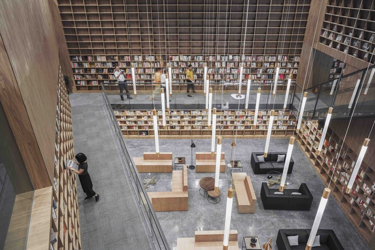 Pabellón y biblioteca CREC / Van Wang Architects, Cortesía de Van Wang Architects