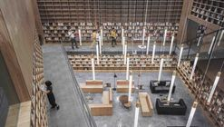 Pabellón y biblioteca CREC / Van Wang Architects