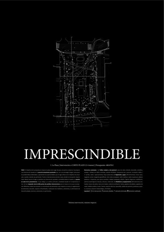 Imprescindible, necesario, deseable. Image © Difusión Ayuntamiento de Madrid