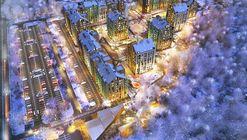 Archimatika Architects Unveils Lively Plans for New Ukrainian Housing Project