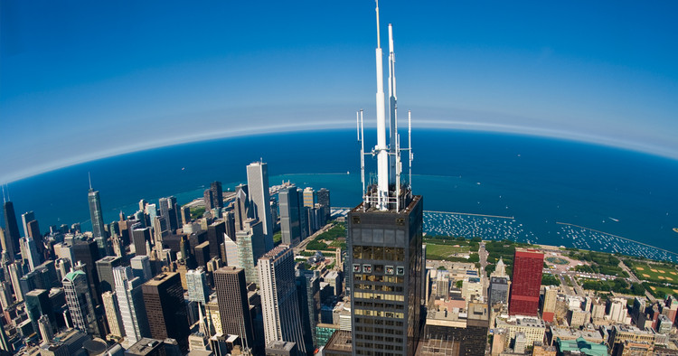 This New Code Ensures Buildings Designs are Internet Optimized, Wired Certified Platinum - Willis Tower, Chicago, US