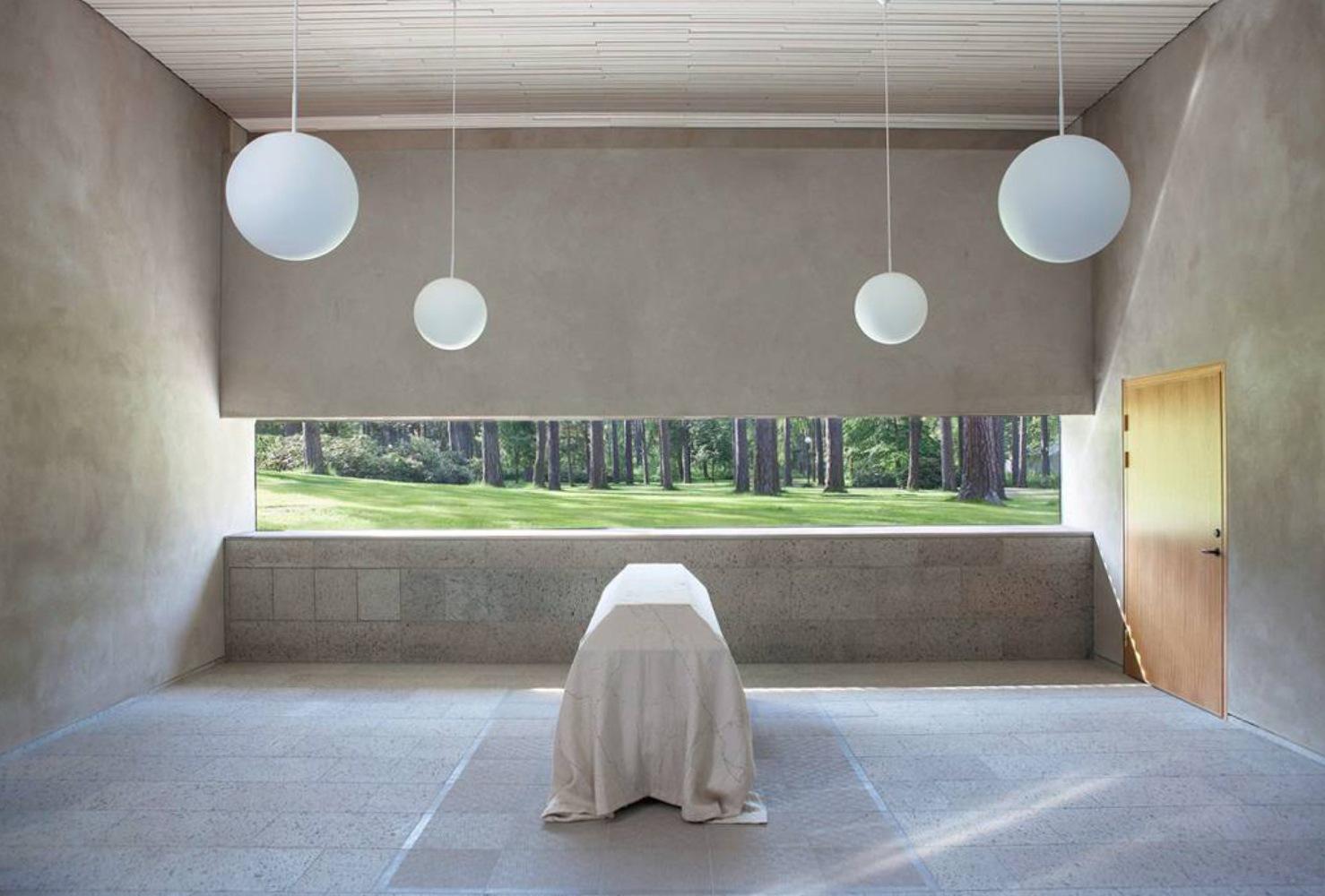 Crematorium in Kalmar / Strindberg Arkitekter