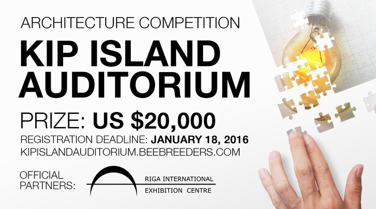 Call for Entries: Kip Island Auditorium, Enter the Kip Island Auditorium ‪architecture‬ ‪competition‬ now! US $ 20,000 worth of prize money! Closing date for registration: JANUARY 18, 2017