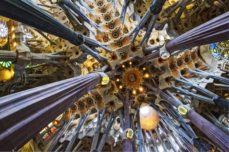 Interior de la Sagrada Familia. Image © Flickr User: Kah-Wai Lin, bajo CC BY-NC-ND 2.0
