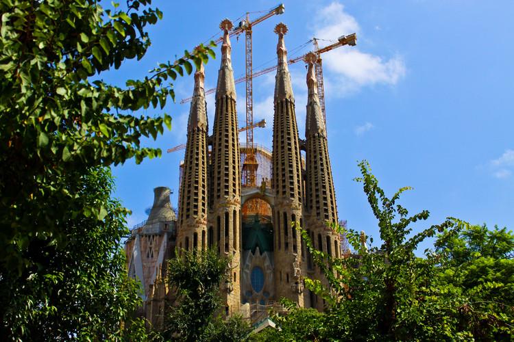 Sagrada Familia / Antoni Gaudí. Image © Flickr User: H.KoPP, bajo CC BY-ND 2.0