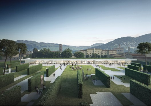 OBR with Michel Desvigne Wins Competition to Design New Central Park in Prato, Italy