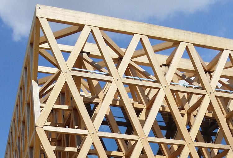 Materiales detalles constructivos en madera plataforma - Estructura madera laminada ...