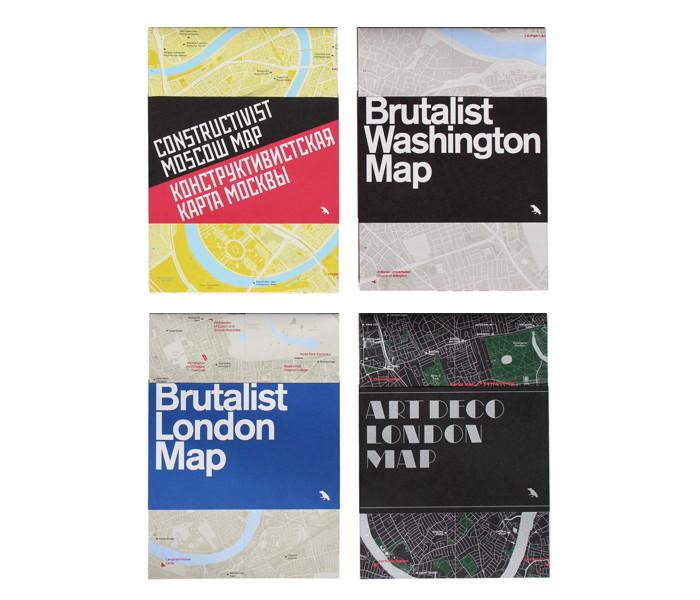 New Map Celebrates Washington D.C's Brutalist Architecture, © Deane Madsen