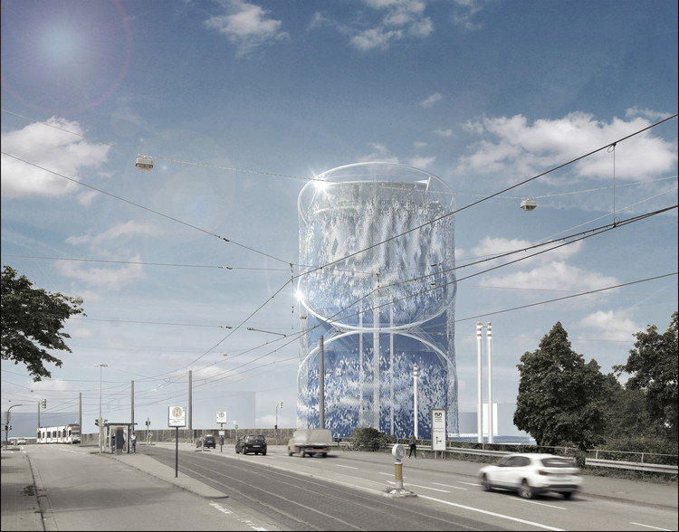 LAVA Unveils Transformation of Energy Storage Center into a City Icon in Germany, Courtesy of LAVA