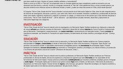 Call for Abstracts. 'Fab en Chile: Estado del Arte'