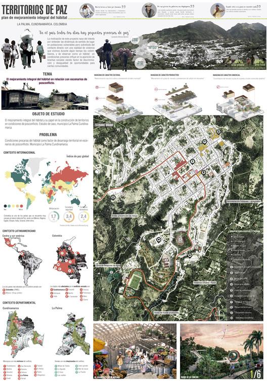 Territorios de Paz: plan de mejoramiento integral del hábitat. Image © Esteban Quiñones Bustos