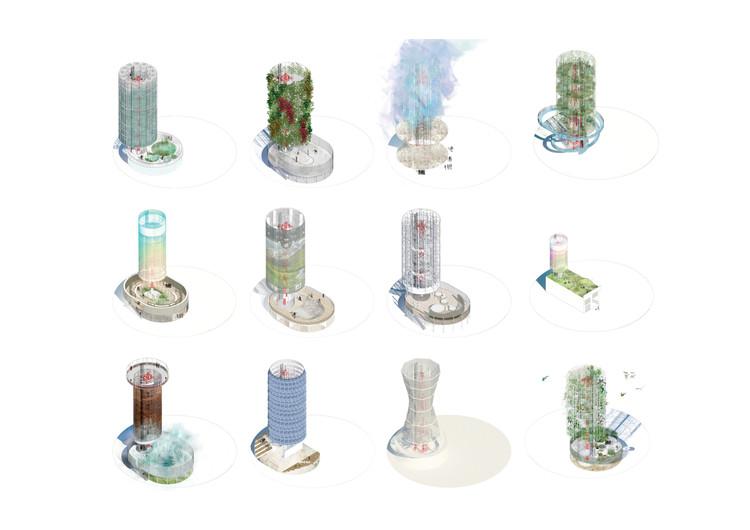 Torres de telecomunicación, paisajes ocultos. Image © Alejandro Vargas, Iojann Restrepo, Daniel Zuluaga