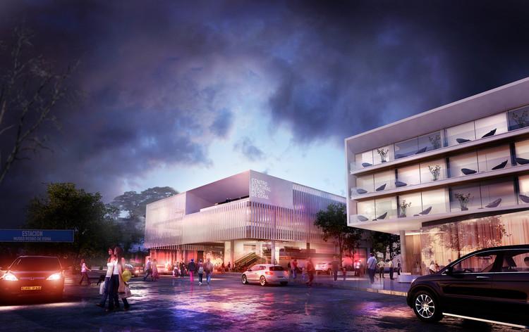 Tercer lugar concurso de diseño Centro Cultural Pedro de Osma en Lima / Gomez Platero Arquitectos, Cortesía de Gómez Platero Arquitectos