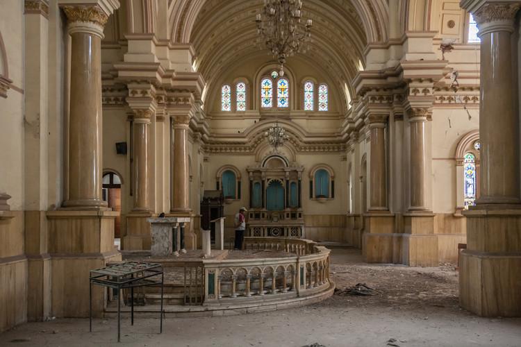 Templo de Luren antes de demolición. Image © Juan Manuel Parra