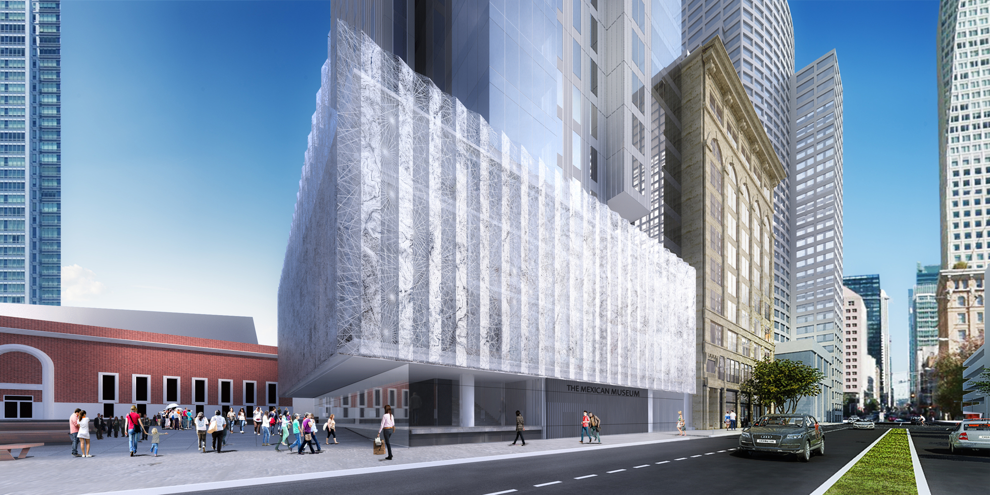 Gallery of ten arquitectos 39 new mexican museum in san for San francisco new museum