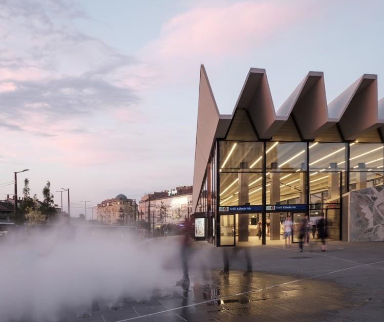 Plaza Széll Kálmán / Építész Stúdió + Lépték-Terv, © Gergely Kenéz