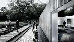 """White Arkitekter A/S Designs Sea-Based WWII Memorial with Moving """"Tides"""""""