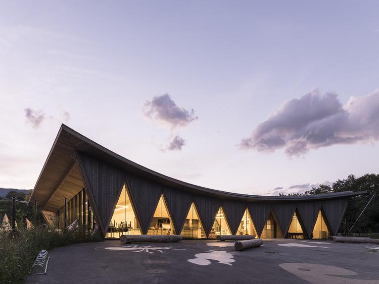Public Pavilion of New Zoological Park La Garenne / LOCALARCHITECTURE, © Matthieu Gafsou