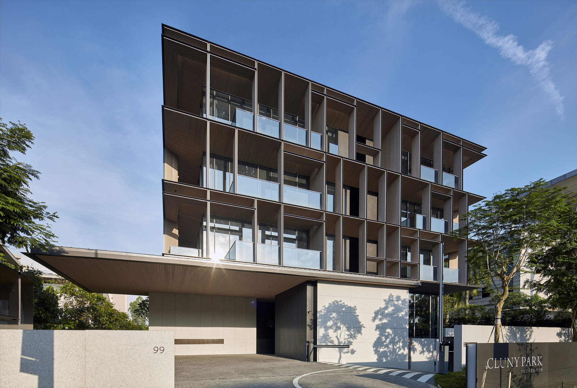 Concrete Floor Apartment Gallery Of Cluny Park Residence Scda Architects 8