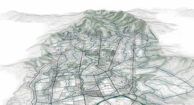 Dendritic Fringes / Longhin-Ribot. Image Cortesía de Santiago Ecologías Emergentes