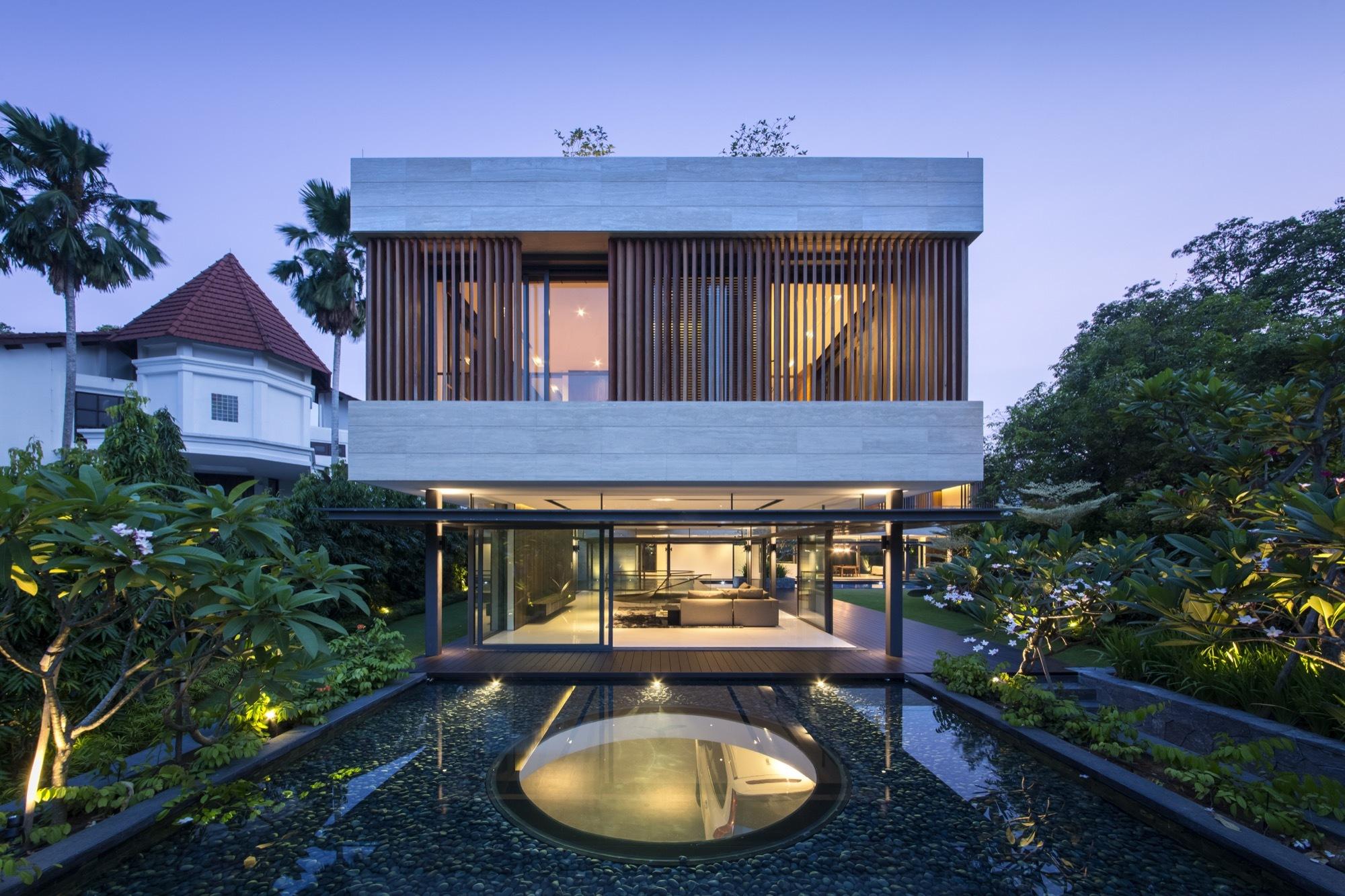 Garden And House Design : Secret garden house wallflower architecture design