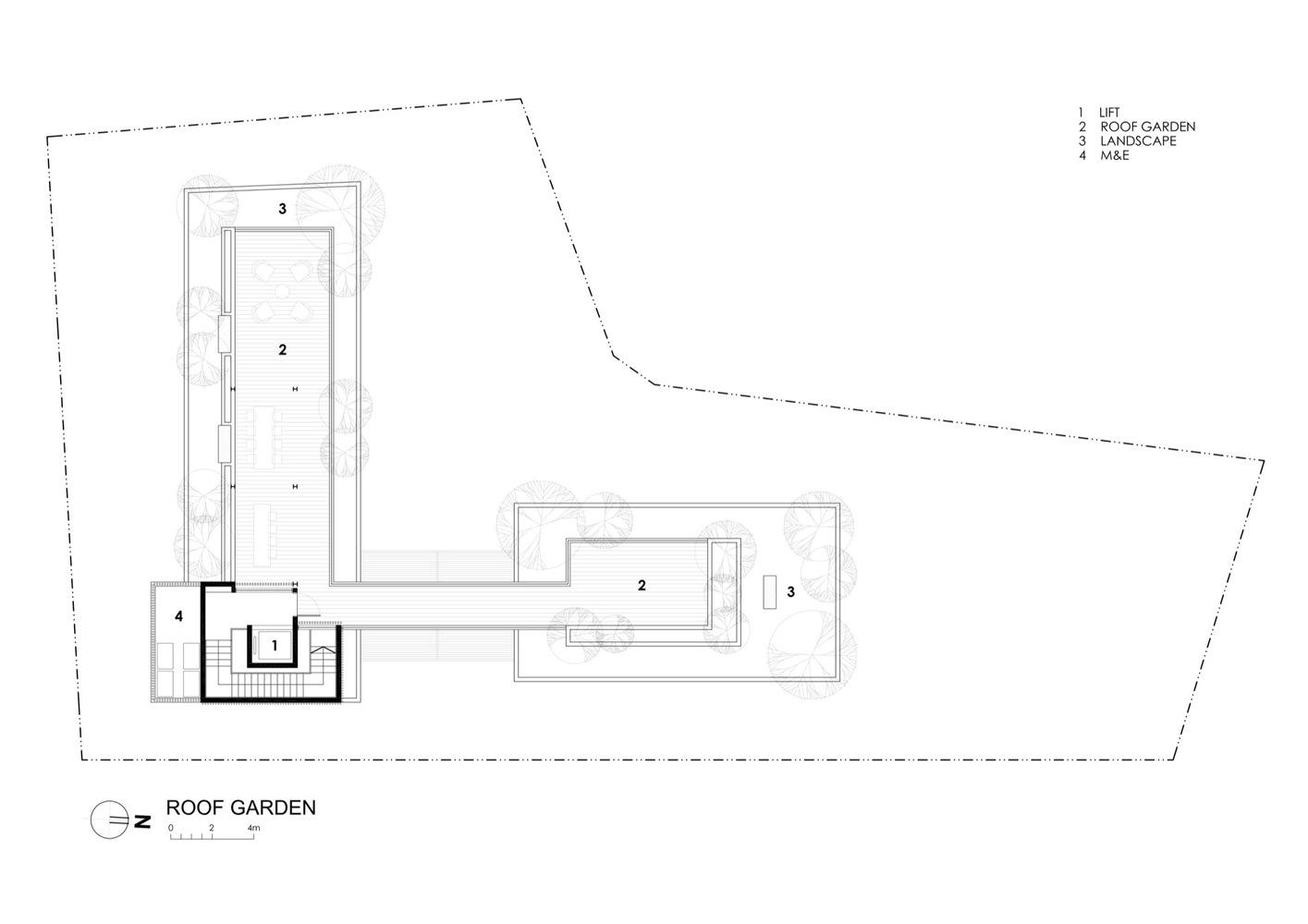 gallery of secret garden house wallflower architecture design 35 secret garden house attic floor plan